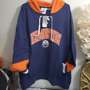NHL Edmonton Oilers Lace Up Jersey 2XL
